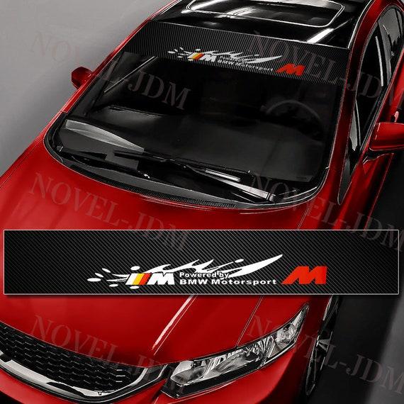 "Car Window Windshield Carbon Fiber Vinyl FUJIWARA TOFU Banner Decal Sticker 53/"""
