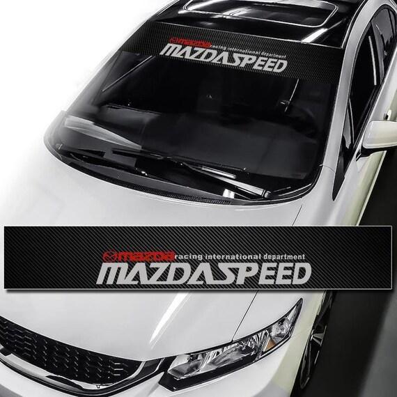 Car Front Exterior Windshield Banner Decal Window Glass Sticker NOS Motorsports