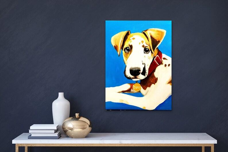 memorial pet painted portrait dog portrait animal art memorial pet gifts Custom Pet Portrait painting cat painting acrylic pet art