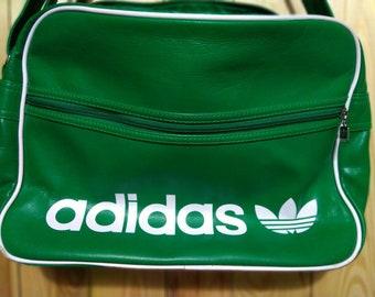 60a16a9e8d7f Adidas 90s Green Print Shoulder Bag