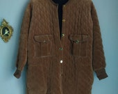almond quilted jacket sonia rykiel paris france