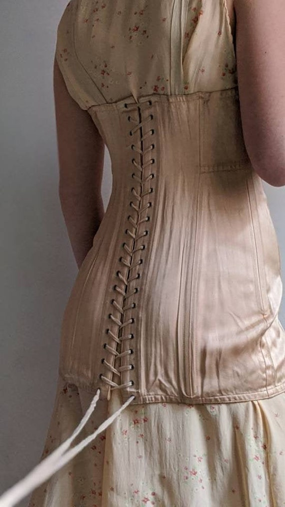 antique golf corset - early 1900s