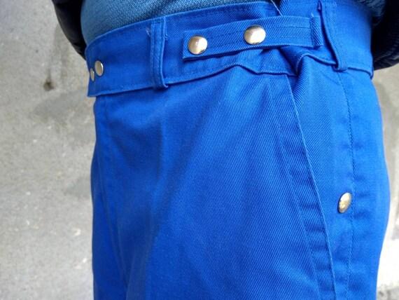 vintage workwear french chore pants utility sanfor