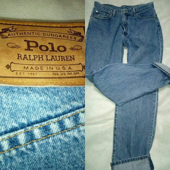 pre-owned men's vintage polo ralph lauren jeans us