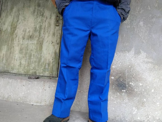 deadstock french chore pants vintage|men's|navy|fr