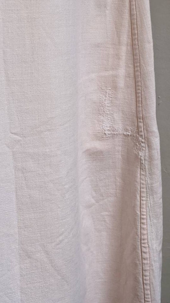 antique dusty pink pioneer cotton dress - image 5