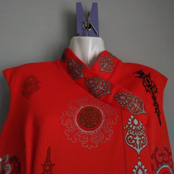 alfred shaheen california hawaii dress - era vint… - image 3
