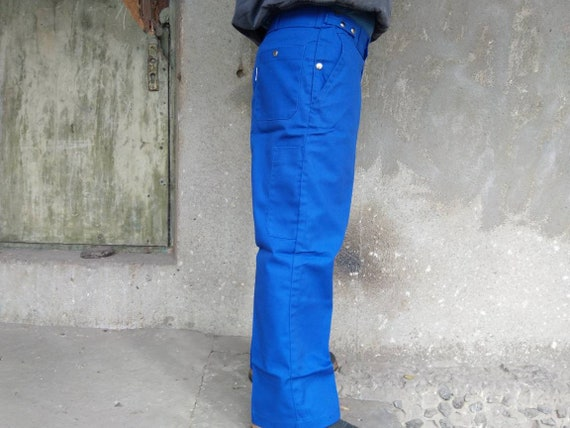deadstock french chore pants vintage|men's|navy|f… - image 3