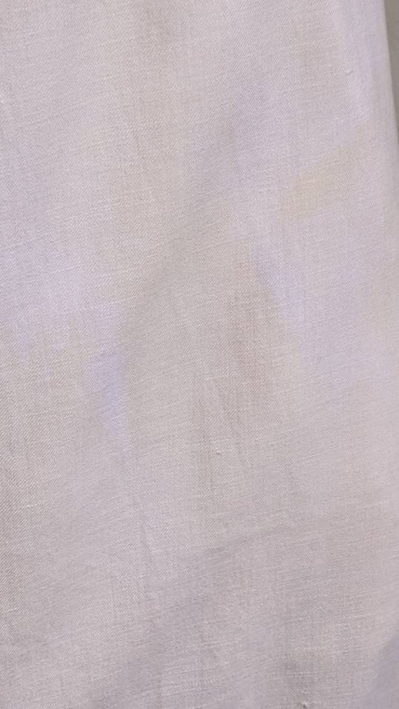antique dusty pink pioneer cotton dress - image 6