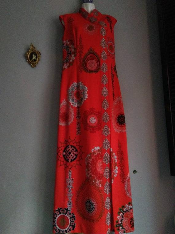 alfred shaheen california hawaii dress - era vint… - image 4