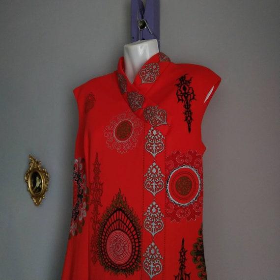 alfred shaheen california hawaii dress - era vint… - image 2