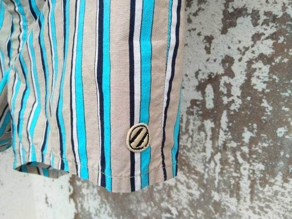 ermenegildo zegna swim shorts vintage|zegna stripe