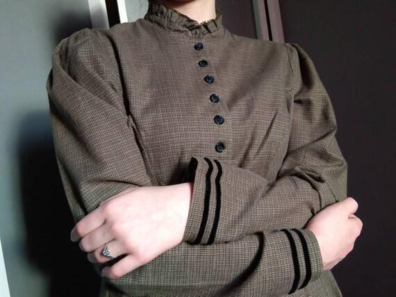 farmhouse shirtwaist dress - era vintage