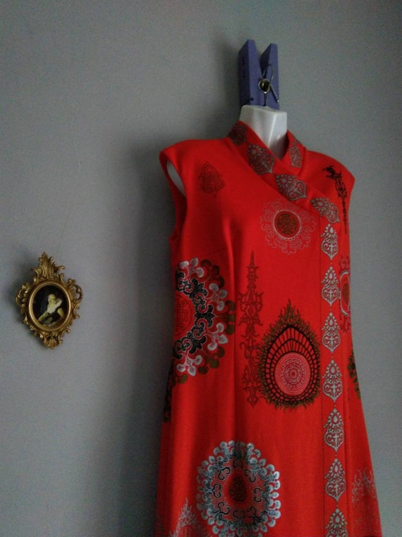 alfred shaheen california hawaii dress - era vint… - image 10