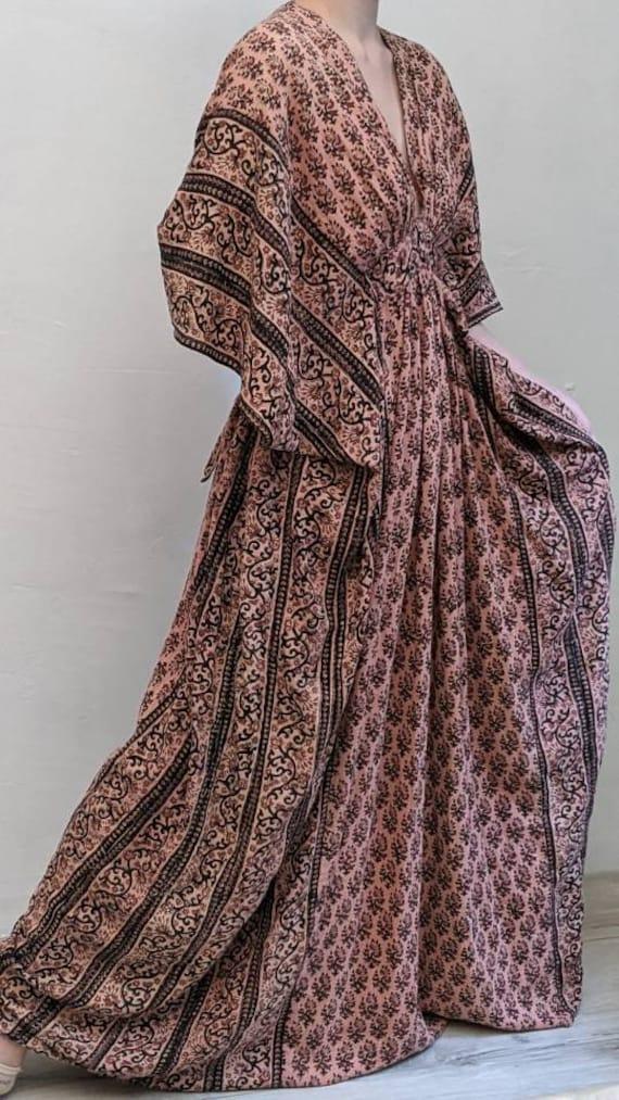 really rare Ayesha Davar VINtage 60s 70s Indian c… - image 10