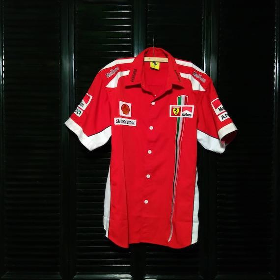 used ferrari marlboro f1 racing shirt vintage|ferr