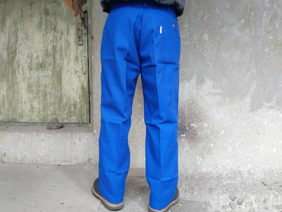 deadstock french chore pants vintage|men's|navy|f… - image 2