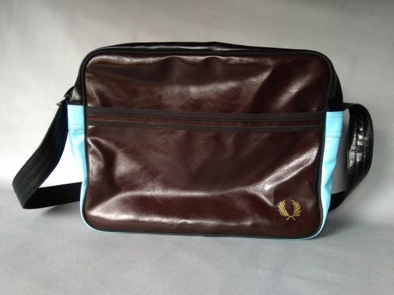 used fred perry messenger bag mens womens fred per