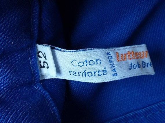 deadstock french chore pants vintage|men's|navy|f… - image 9