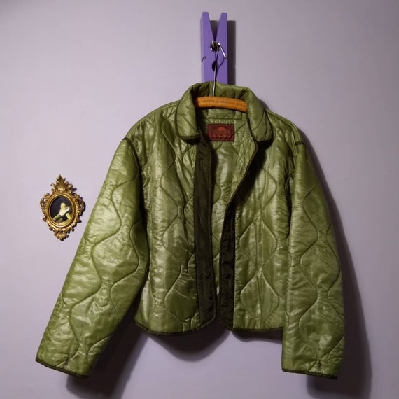 pre-owned women's vintage charro army quilted line