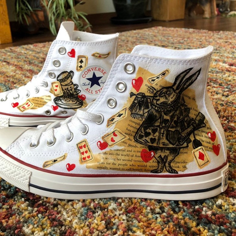 Hand Painted Personalised Shoes