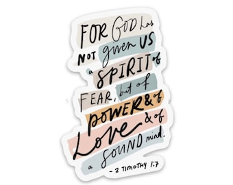 Faith stickers   Christian stickers   Religious decals about Jesus, God, religion, bible verse