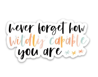Inspirational Words Stickers 50PCS Reward Motivational Decal Stickers Removable Vinyl Stickers Pack for Water Bottles Computer Travel Case Phone Notebook Trendy Motto Decal Stickers for Teens
