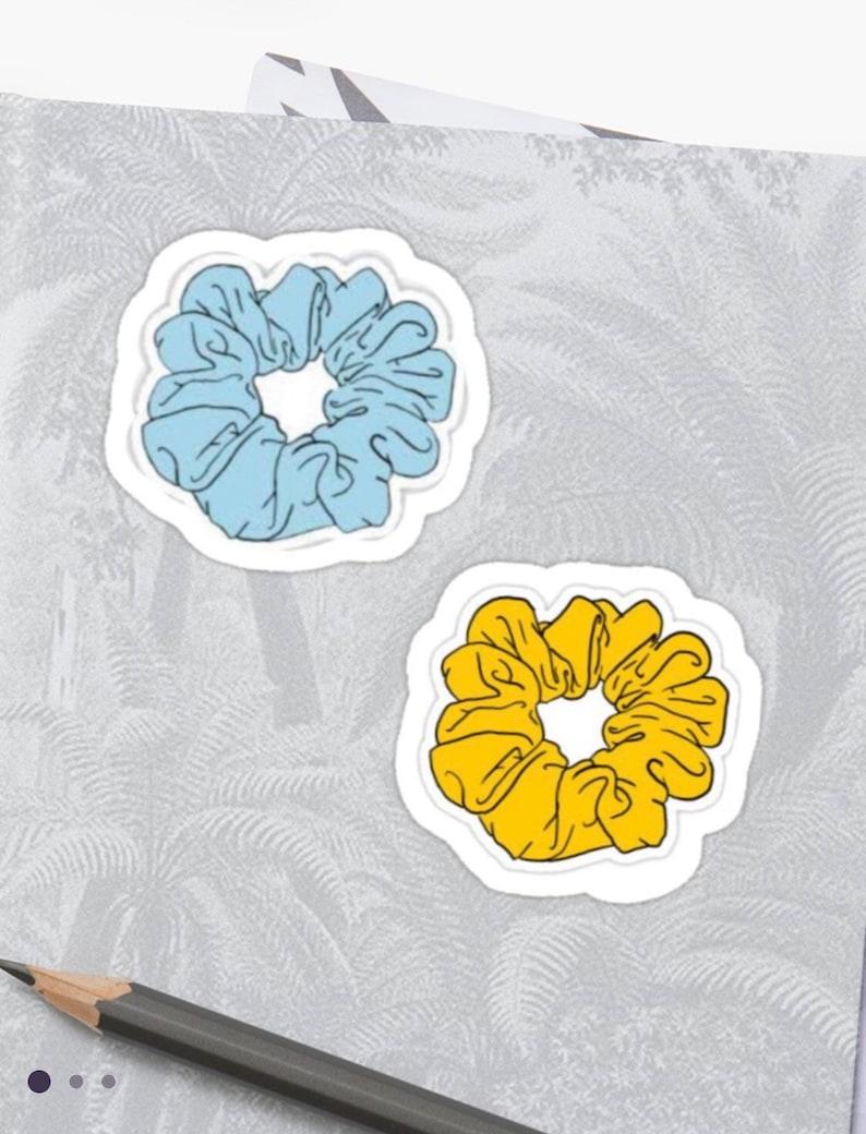 Scrunchies Stickers