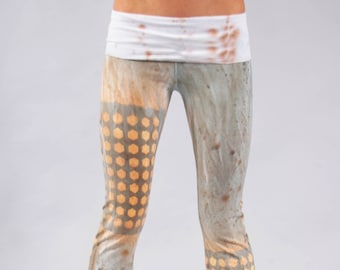 Desert Gold Yoga Pants