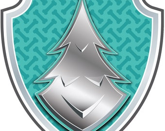 patrol logo Transfer Motif Applique Badge