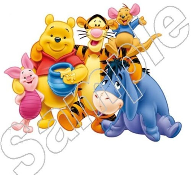 WINNIE THE POOH /& FRIENDS #1 PERSONALISED CHILDS T-SHIRT