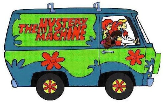 Scooby-Doo Gar/çon Mystery Machine Sweat /À Capuche