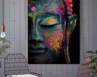 Framed Buddha Etsy