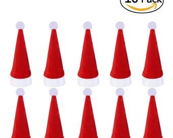 3 Set Santa Suit Christmas Cutlery Holders Xmas Table Decoration Red White