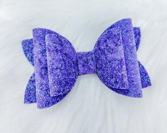 3\u201d glitter bows