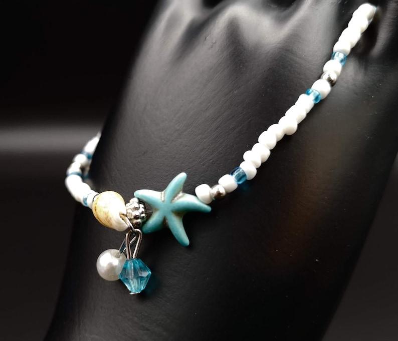 design series Seestern No04 Foot chain