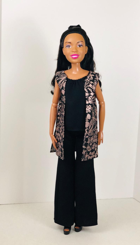 Vested Interest Ensemble for 28-inch Doll