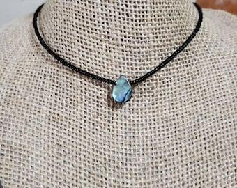 New Zealand Abalone Paua Shell Designer DIY Tiny Rectangle Beads Set