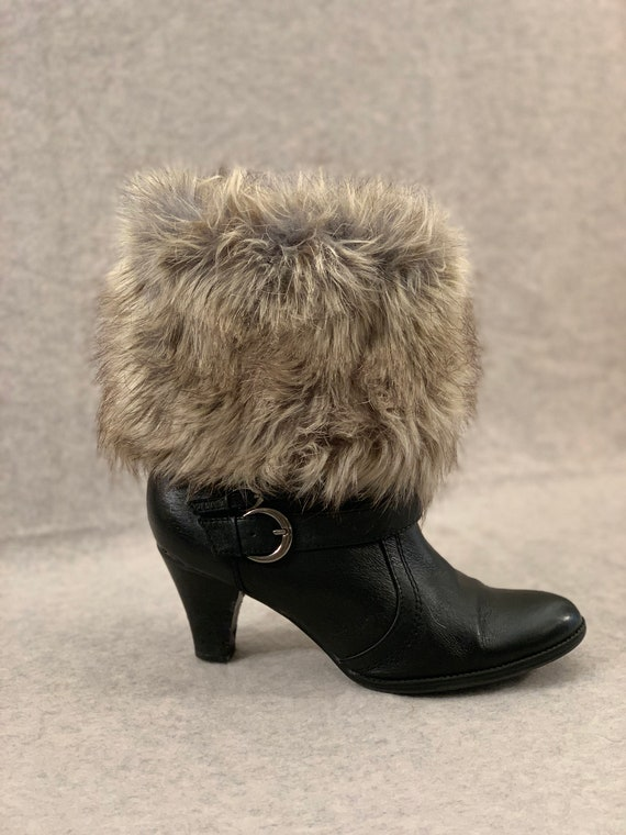 f07e38fee0b Raccoon Boot Cuffs, Fur Boot Cuffs, Fur Boot Toppers, Faux Fur Boot Cuffs,  Boot Cuffs, Boot Accessory