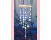Wind Chime Hanging Musical Crystal Mobile Calming Bells Remembrance Gift Listen to the Wind Memorial Windchime Bereavement Mourn