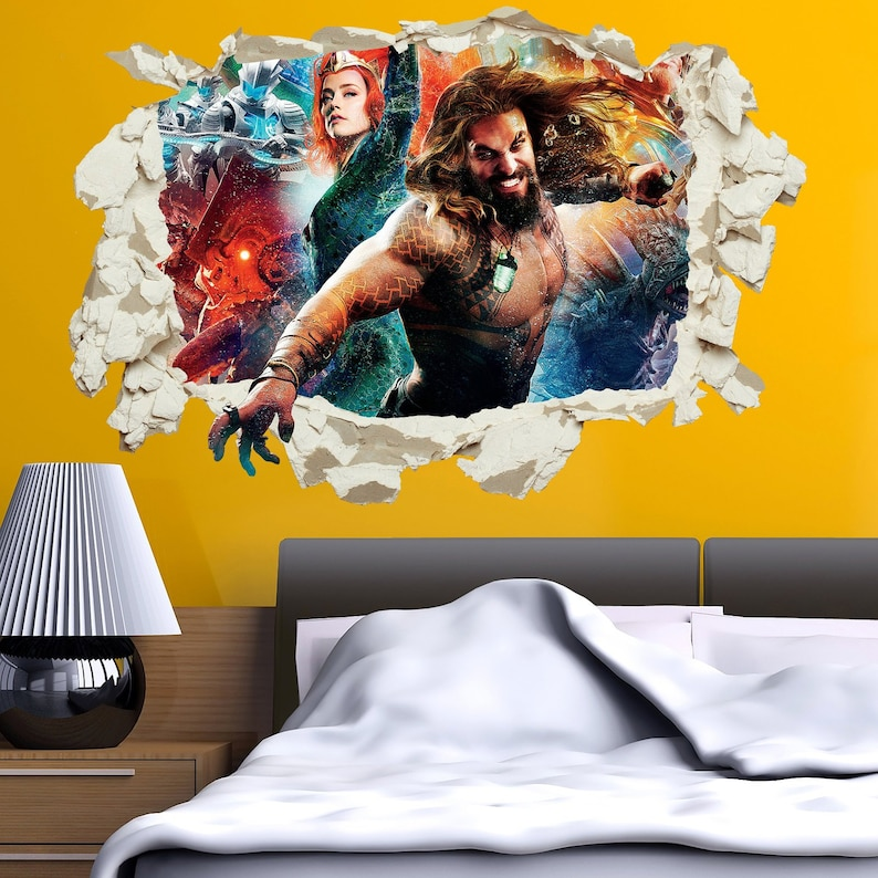 3 x sizes and many colour options Decal WONDER WOMAN Wall Art Sticker Mural