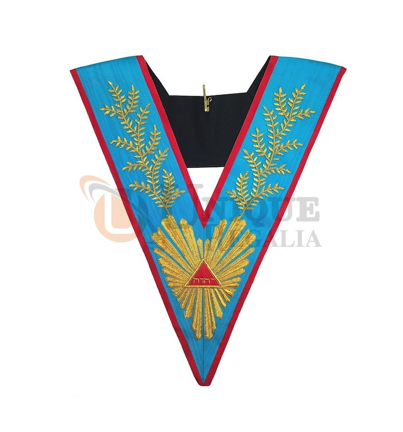 Masonic Officer's collar Memphis Misraim Worshipful Master MA509