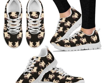 170a2ab6748 Pug Lover Women S Sneakers