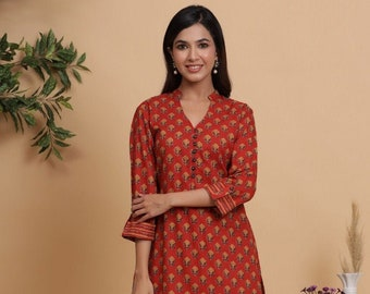 Indian Handmade Designer Cotton Night Suits Bollywood Bollywood Bollywood Women Pink Beautifully Floral Printed Comfortable Night Suit