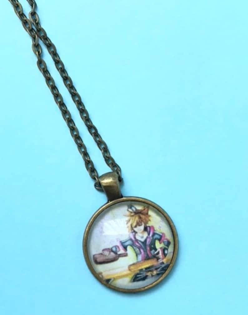 Kingdom Hearts Sora Couronne Collier Cadeau de Noël