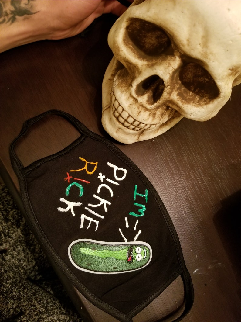 I/'m pickle RICKKK mask !