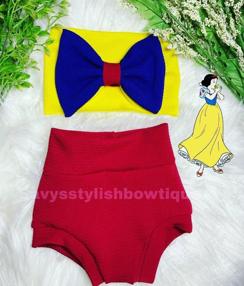 Snow White bummie set