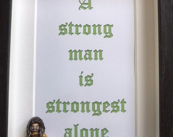 Strong Man Etsy