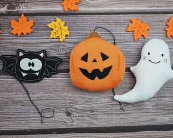 Autumn Decoration, Pumpkin, Halloween, Decoration Home, Decoration Pendant, Halloween Ghost, Bat, Pumpkin Decoration, Beautiful for Home, Decoration Inside,