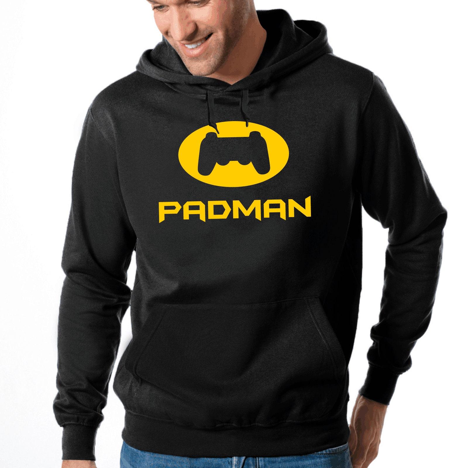 Paradis | Pad Pad | d'homme | Geek | Manette de jeu | Nerd | Gamer | Bande dessinée | Hero | Hero | Super-héros | Hooded Sweatshirt | Chandail à capuchon | Sweat à capuche 5713da
